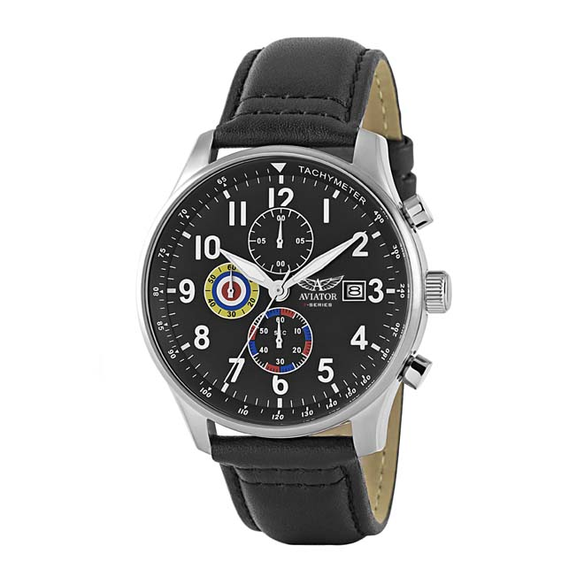 aviator gents chronograph f series watch avw2044g291 ebay. Black Bedroom Furniture Sets. Home Design Ideas